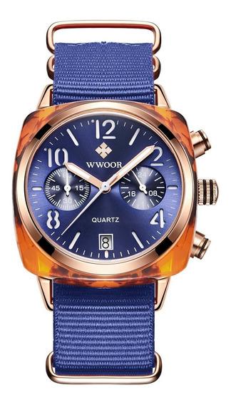 Relógios Wwoor Venda Atacado A Partir De 5 Peças