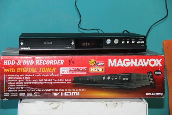 Dvd Video-grabador Magnavox De 160gb