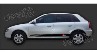 Adesivo Faixa Emblema Audi A3 S3 Faixa Lateral Imp2