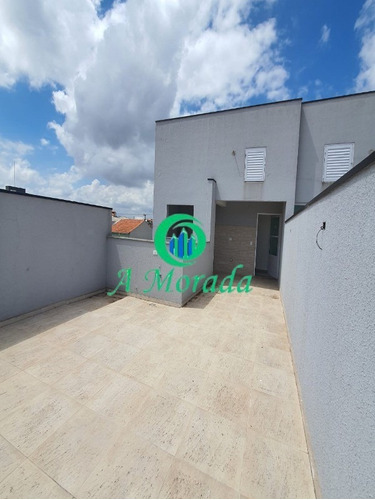 Imagem 1 de 13 de Cobertura Sem Condomínio 45 + 45 M² Vila Linda! - Ap02974 - 69213594