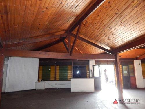Imagem 1 de 14 de Salão Para Alugar, 492 M² Por R$ 15.000,00/mês - Centro - São Bernardo Do Campo/sp - Sl0443