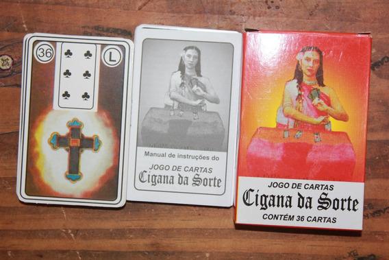 Jogo De Cartas, Tarô, Baralho, Cigana Da Sorte Com 36 Cartas