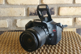 Canon T3i + 2 Lentes + Capa + Na Caixa