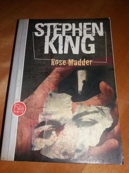 Livro Stephen King Rose Madder Ponto De Leitura * F1