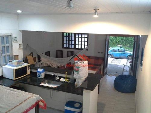 Casa Com 2 Dormitórios À Venda Por R$ 260.000,00 - Massaguaçu - Caraguatatuba/sp - Ca0553