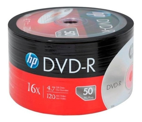 Dvd Virgen Hp X 50 Unidades De 4.7 Gb -envio X Mercadoenvios