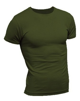 Remeras Entallada Reep Militares/uca/táctica Colores Lisos