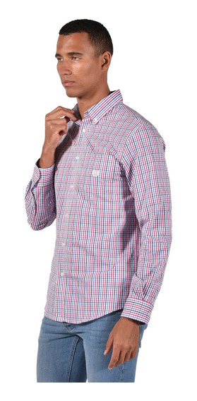 Camisa Stretch Fit Chaps Rosa 750735464-36ip Hombre
