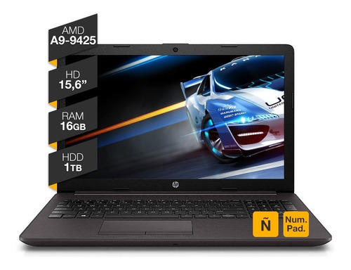 Notebook Hp A9 9425 16gb Ram 1tb Hdd W 10