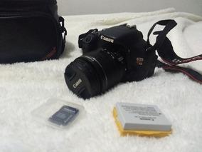 Canon T3i Rebel + Lente 18-55mm