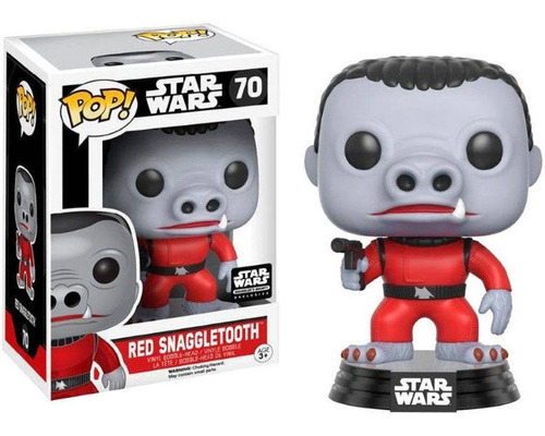Red Snaggletooth 70 Funko Pop Smuggler's Bounty