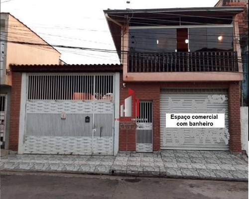 Sobrado À Venda, 300 M² Por R$ 535.000,00 - Jardim Britânia - São Paulo/sp - So0291