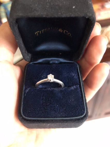Anillo De Diamante Original Marca Tiffany & Co
