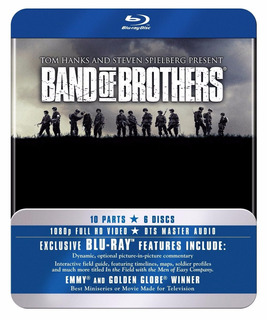 Blu Ray Band Of Brothers + The Pacific Caja Metalica Nuevas