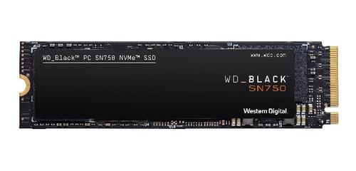 Ssd Wd Black 500gb M.2 Int Nvme Sn750