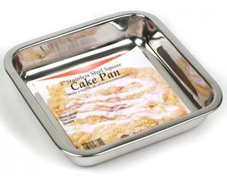 Norpro 8 Square Pan Pastel De Acero Inoxidable