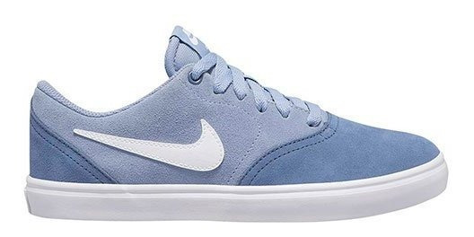 Tenis Nike Wmns Sb Check Solar Azul Tallas #23 A #26 Mujer