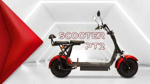 Imagem 1 de 3 de  Scooter Elétrica Pt2 Shineray - Pronta Entrega