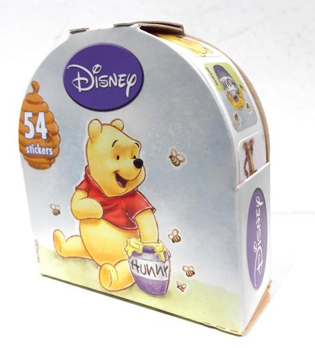 Disney Pooh Roll Con 54 Stickers Oficial Nuevo Original