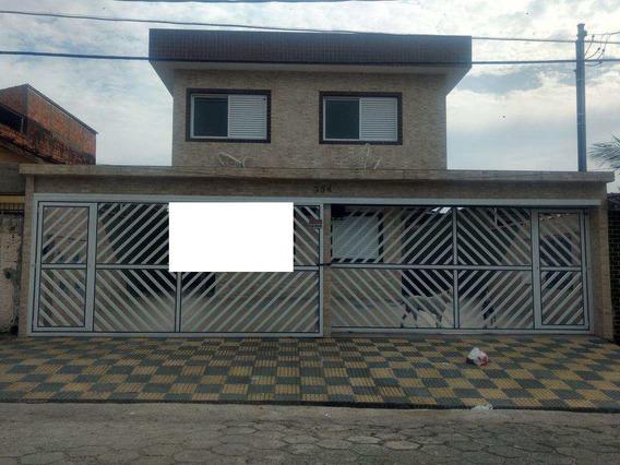 Casa Com 2 Dorms, Vila Margarida, São Vicente - R$ 189 Mil, Cod: 181 - V181