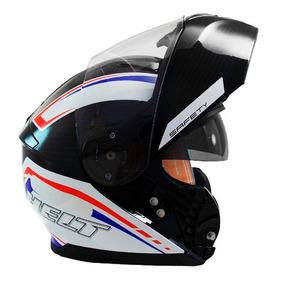 Capacete Hippo Glass Safety N 58 Vermelho/azul