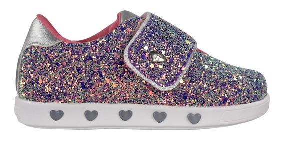 Tênis Infantil Pampili Sneaker Luz 165040 | Radan Esportes