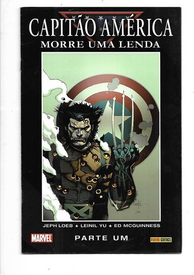 Capitão América - Morre Uma Lenda 2 Volumes
