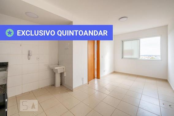 Apartamento No 7º Andar Com 1 Dormitório E 1 Garagem - Id: 892980786 - 280786
