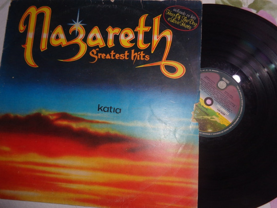 Lp Nazareth- Greatest Hits