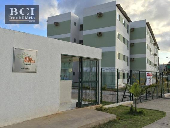 Apartamento Com 2 Dormitórios À Venda, 48 M² Por R$ 90.000 - Inhamã - Igarassu/pe - Ap0007