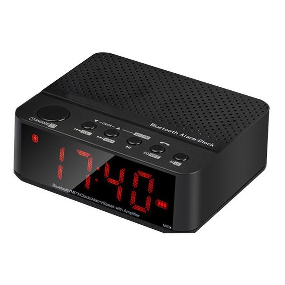 Rádio Despertador Fm Mp3 Player Leadstar Frete Grátis