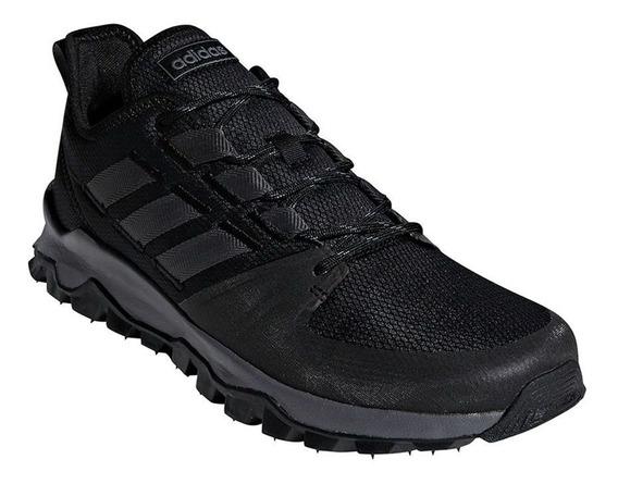 Tênis adidas Kanadia Trail - Masculino - Preto/chumbo