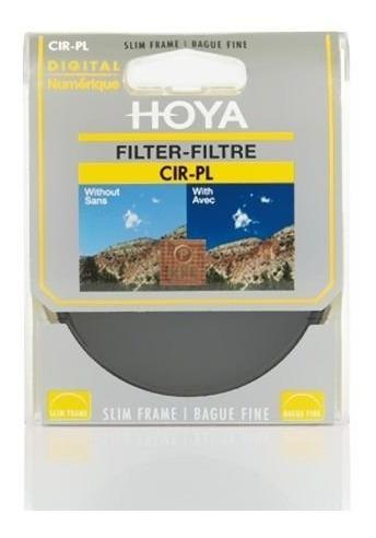 Filtro Polarizador Circular Slim Hoya Cir-pl Sl 49mm