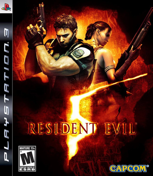 Jogo Resident Evil 5 Playstation 3 Ps3 Pronta Entrega Game