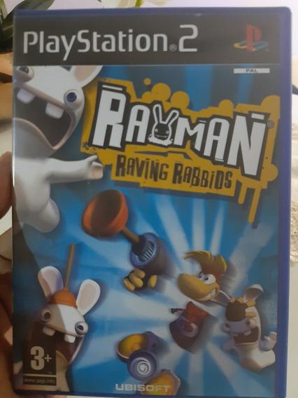 Rayman Raving Rabbids Ps2 Original Pal Europeu