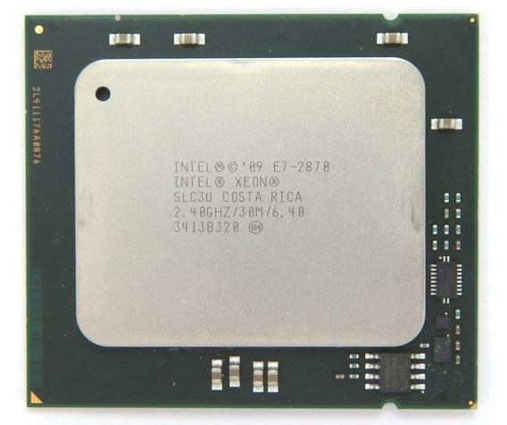 Xeon Processor E7-2870 30m Cache, 2.40ghz, 6.40 Gt/