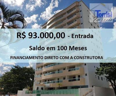 Apartamento Em Praia Grande, 02 Dormitórios Sendo 01 Suite, Sala Com Varanda Gourmet. Lazer Completo No Forte Ap1275 - Ap1275