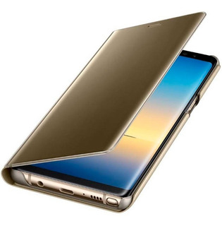 Funda Original Flip Cover Clear View Standing Samsung Note 8