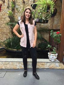 Roupas Atacado Revenda Max Colete Jeans Kit Com 10