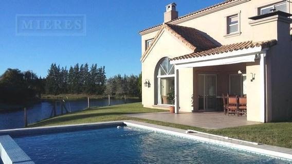 Casa En Venta Con Renta Hasta 10/2020 - Barrancas Del Lago, Nordelta - Lote Al Lago
