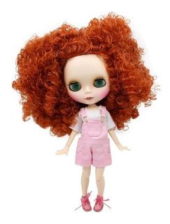 Blythe Doll Articulada Com Vestido Sapato 9mãozinhas E Rosto