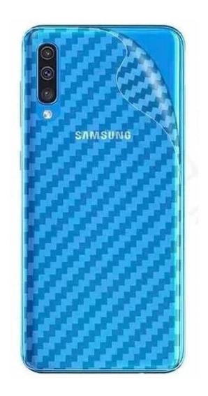 Película Traseira Fibra Carbono Samsung Galaxy A50