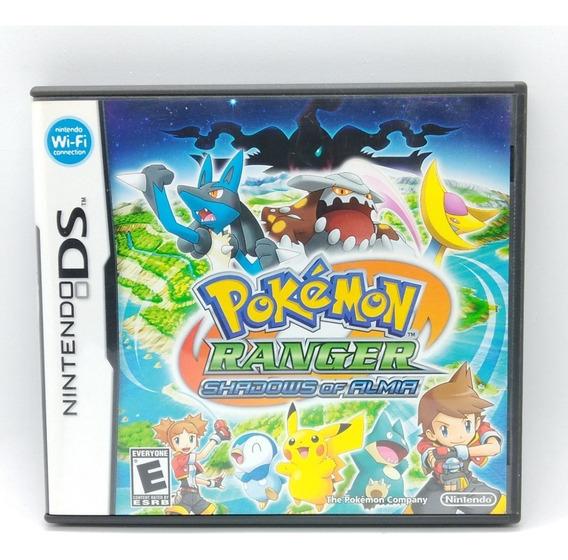 Pokemon Ranger Shadows Of Almia Nintendo Ds Midia Fisica Nds