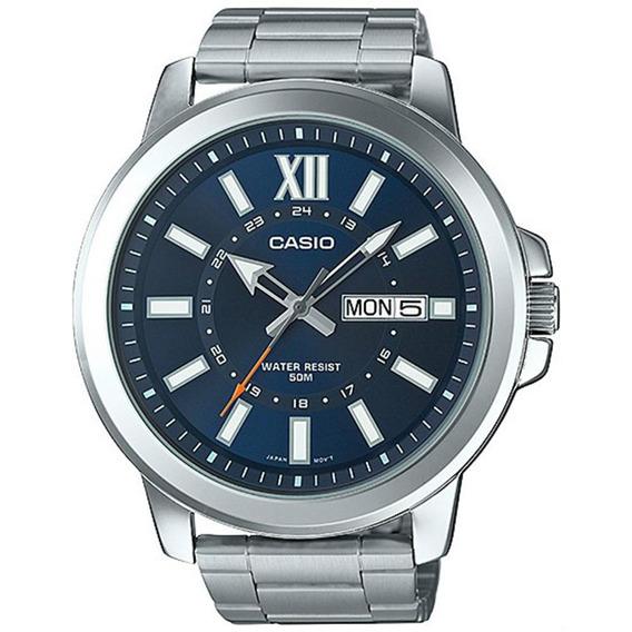 Relógio Casio Mtp-x100zd-2avdf Com Calendário