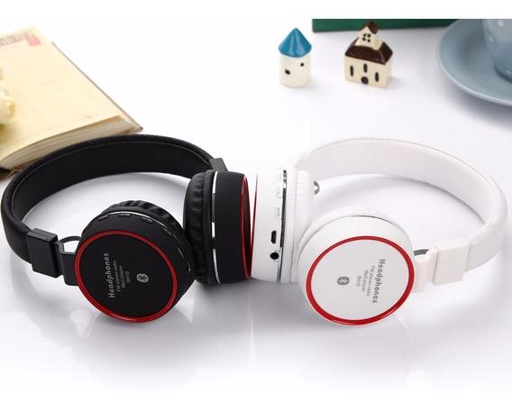 Fone Ouvido Headphone Stereo Bluetooth Wirelles Profissional