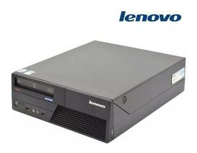 Cpu Desktop Lenovo E8400 3.0 8gb Ddr3 Ssd 120gb Leitor Wifi