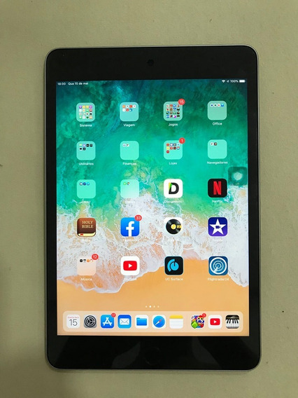 iPad Mini - 4ª Geração - 128gb - Cinza Espacial - Wifi