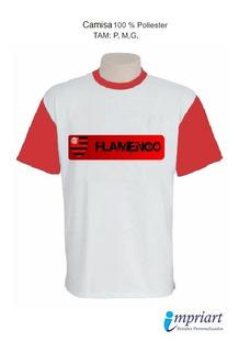 Camisa Time Personalizada - Flamengo