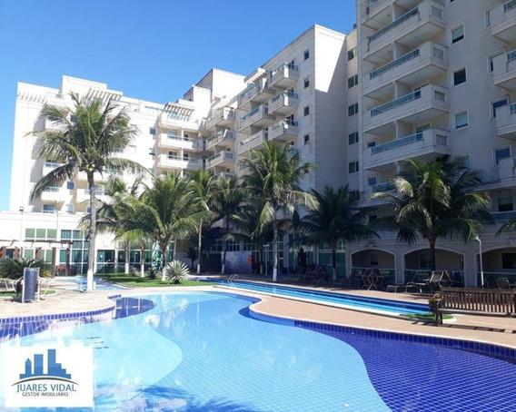 Apartamento Térreo Mobiliado Com Vista Para Piscina Em Itacuruçá - Mangaratiba - 282 - 34209980