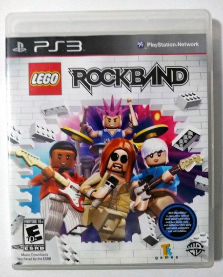 Lego Rock Band Ps3 Mídia Física